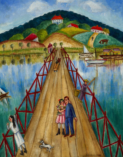 Chana Kowalska, 'The Bridge', 1937