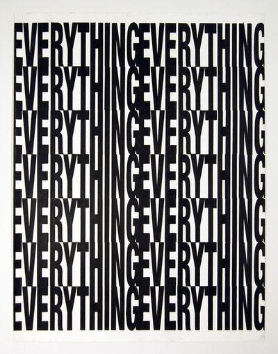 Joe Nanashe, 'Everything All Over', 2010
