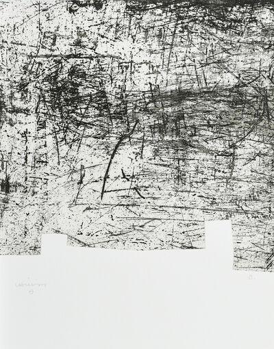 Eduardo Chillida, 'Une Hélène de Vent ou de Fumée', 1990