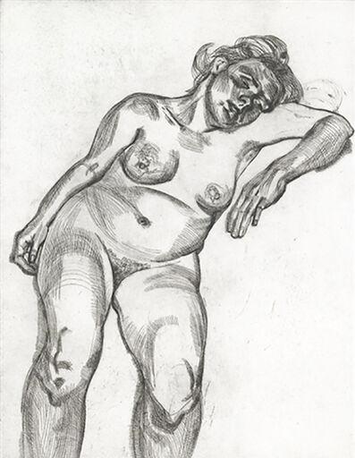 Lucian Freud, 'Blond Girl', 1985