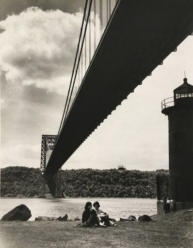 Nat Fein, 'George Washington Bridge', 1943