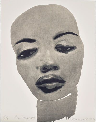 Marlene Dumas, 'The Supermodel', 1995