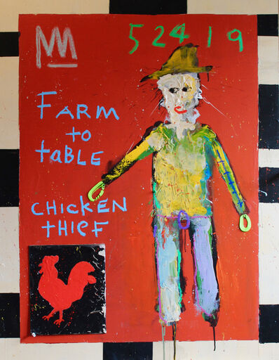 Michael Snodgrass, 'Farm to table chicken theif', 2019