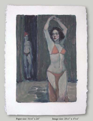 Malcolm T. Liepke, 'Show Dancer II', 2001