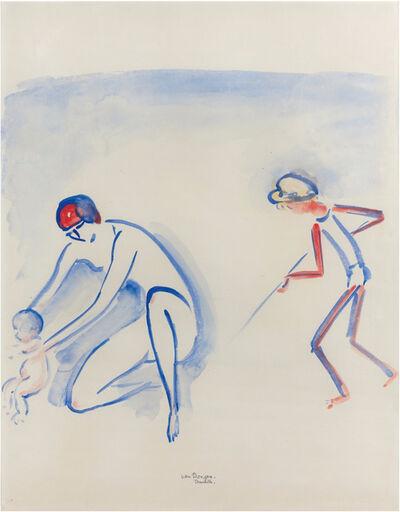 Kees van Dongen, 'Scène de plage à Deauville', 1877-1968