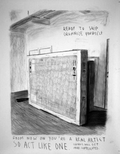 Rinus Van de Velde, 'Ready to ship', 2008