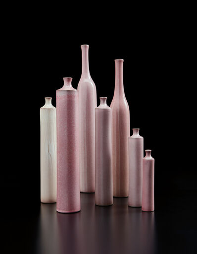 Jacques & Dani Ruelland, 'Group of seven vases', 1960s