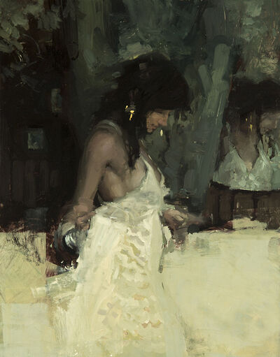 "Jeremy Mann, '""Note in Pale Yellow"" ', 2019"