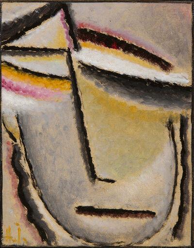 Alexej von Jawlensky, 'Visage abstrait', 1927