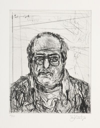 William Kentridge, 'Self Portrait State VI', 2007