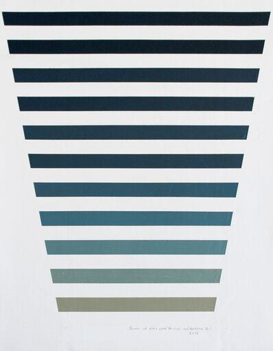 Jessica Sánchez, 'Prueba de materiales, composición y color 2', 2019