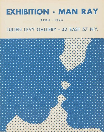 Marcel Duchamp, 'Brochure for the Julien Levy Gallery Exhibition Man Ray April 1945', 1945