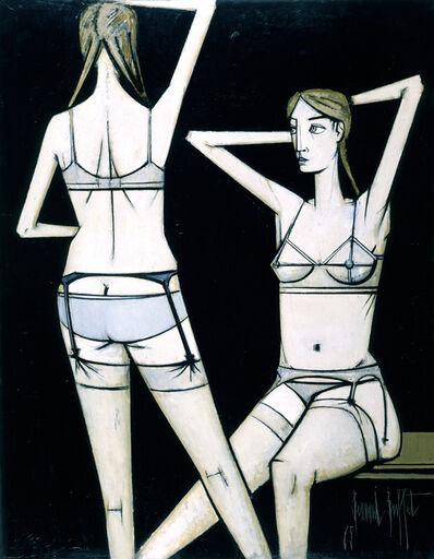 Bernard Buffet, 'Femmes déshabillées, deux femmes', 1965