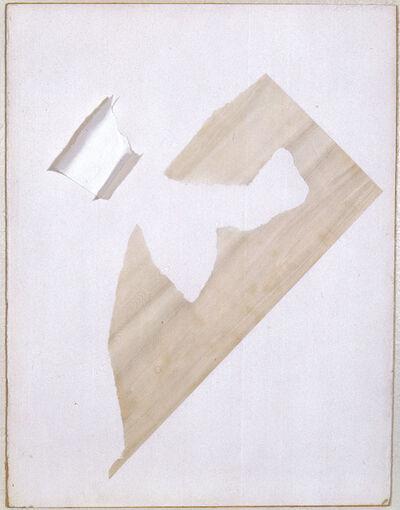 Friedrich Vordemberge-Gildewart, 'Weiss in Weiss (C10)', 1947