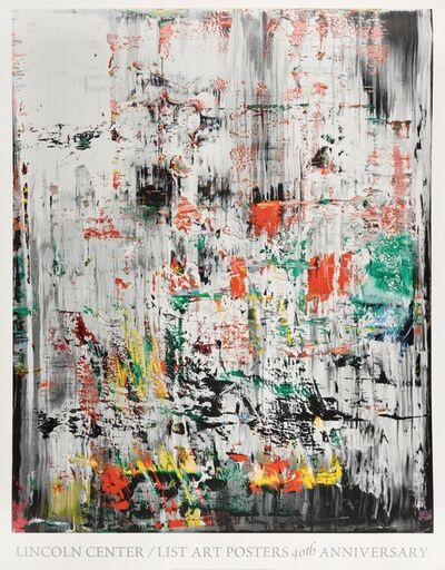 Gerhard Richter, 'Lincoln Center / List Art Posters 40th Anniversary', 2003