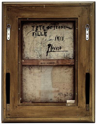 Philippe Gronon, 'Verso n°18, Tête de jeune fille, par Pablo Picasso, Collection Centre Pompidou, Paris', 2007