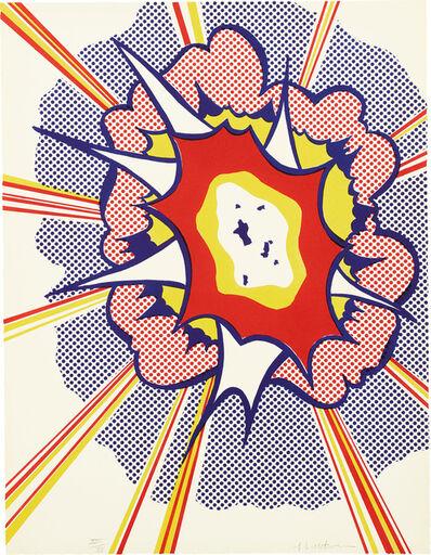 Roy Lichtenstein, 'Explosion, from Portfolio 9 (C. 49)', 1967
