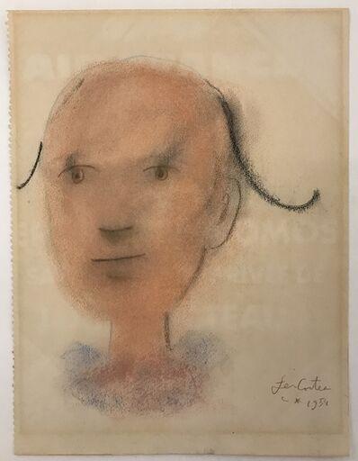Jean Cocteau, 'Harlequin Portrait', 1954