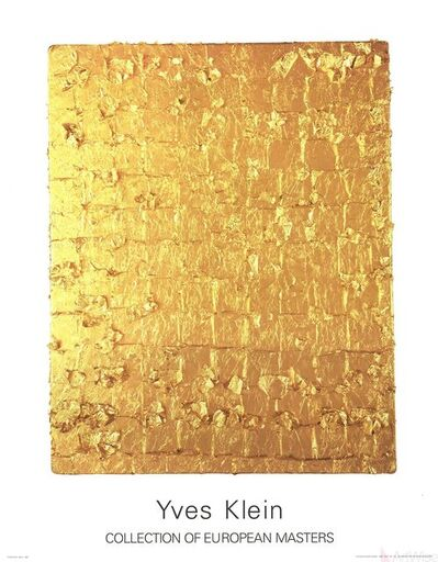Yves Klein, 'Gold Leaf on Panel', 1995