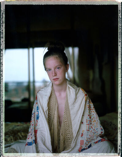 Cristina Fontsare, 'At fourteen with Grandma's Shawl', 2018
