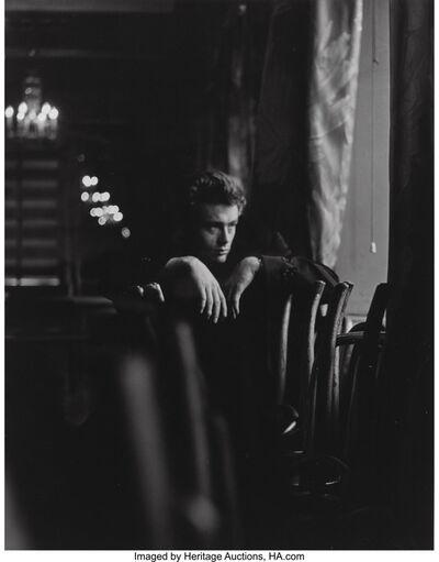 Roy Schatt, 'James Dean, on set of The Thief', 1954