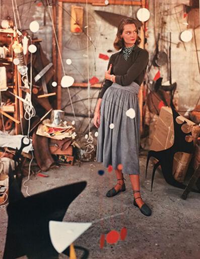 Genevieve Naylor, 'Model in Alexander Calder's Studio', 1948