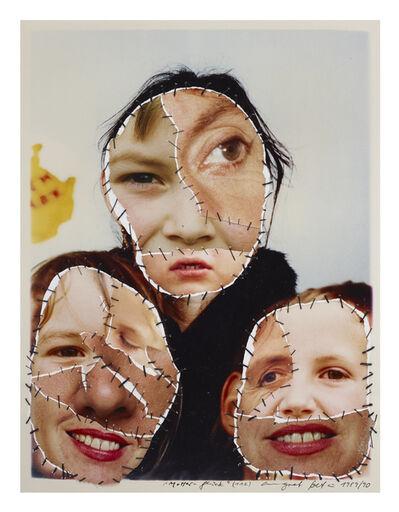 Annegret Soltau, 'Mutter-Glück - mit Tochter und Sohn (112)', 1989/90