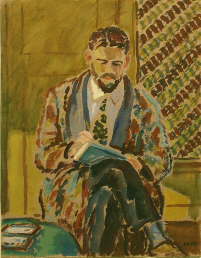 Harold Weston, 'Man Sketching', 1928