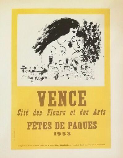 Marc Chagall, 'Vence Fétes De Paques', 1959