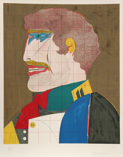 "Richard Lindner, 'Profile from the ""After Noon"" Portfolio', 1969"