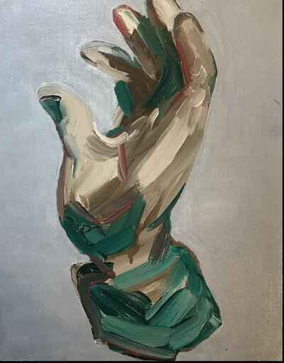 Claudia Baez, 'Photo by Brassaï, Sculpture by Picasso, Main ouverte, Variante bronze, 1924- H. 25 cm', 2019