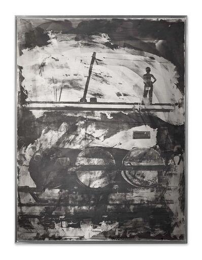 Robert Rauschenberg, 'Drums (Night Shade)', 1991