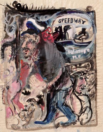 James Martin, 'Naked Rider', 1976