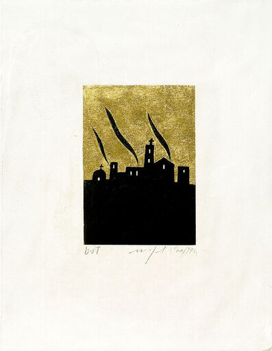 Mimmo Paladino, 'Ulysses 16 June 1904 (from the set of 18 etchings for the book edition of Ulysses by J. Joyce)', 1994