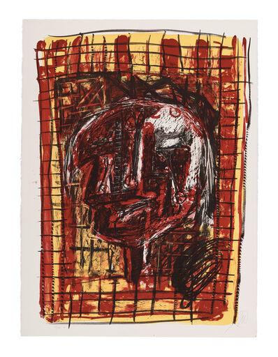 Markus Lüpertz, 'Parsifal - Männer ohne Frauen II', 1995