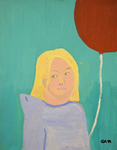 Gary Peabody, 'Girl with Balloon', 2011