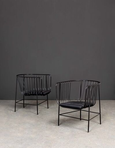 nendo, 'Sekitei, Pair of armchairs', 2011