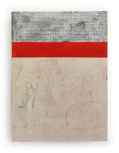 Jon Rollins, 'Gitterot', 2018