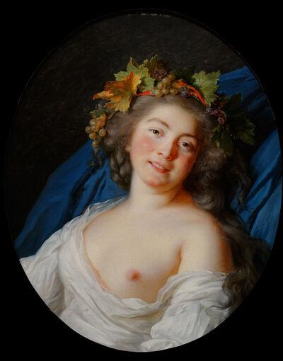 Élisabeth Louise Vigée-Le Brun, 'Bacchante', 1785