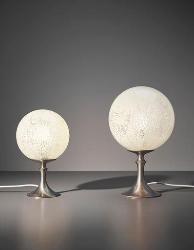 Venini, 'Two table lamps', ca. 1950