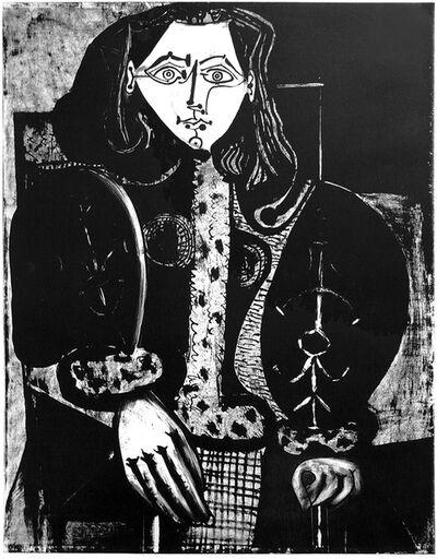 Pablo Picasso, 'Femme au Fauteuil No. 1 (d'après le rouge)', 1949