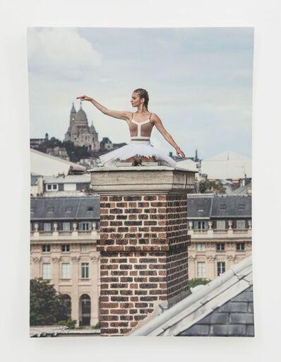 JR, 'Ballet, Palais Royal, Paper Block #2, Paris, France', 2020