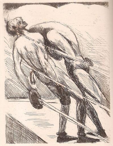 André Dunoyer de Segonzac, 'Tableau de la boxe', 1922