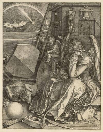 Albrecht Dürer, 'Melencolia I', 1514