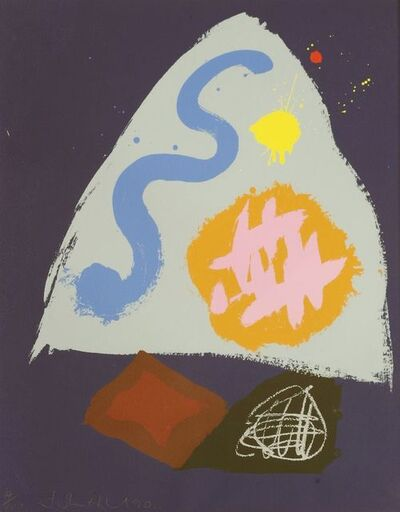 John Hoyland, 'SNOWBIRD', 1990