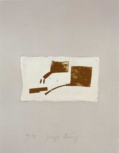 Joseph Beuys, 'Skulptur aus Gold (from the Suite Schwurhand)', 1980