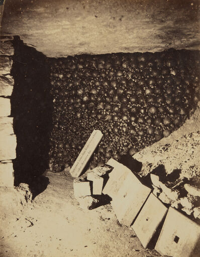Nadar, 'Catacombs, Paris, April', 1862