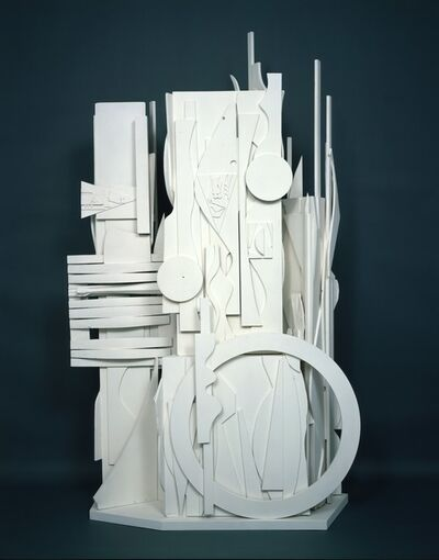 Louise Nevelson, 'Dawn's Presence - Two Columns', 1969-1975