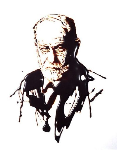 Vik Muniz, 'Sigmund Freud (From Pictures of Chocolate)', 1997