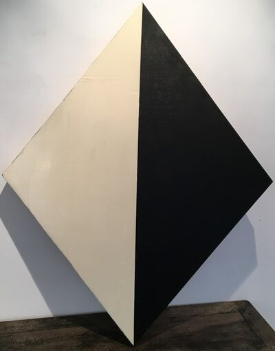 Manolo Ballesteros, ' black and white rhombus', 2020